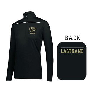 New! LADIES Defer 1/4 ZIP EMBROIDERED w/LASTNAME Optional