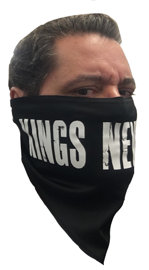 New! KINGS NEVER DIE Bandana Face Covering