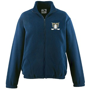 NEW Augusta Chill Fleece Embroidered Left Chest & Back Neckline
