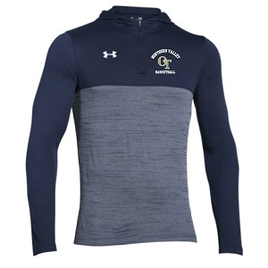 New!! UA TECH 1/4 Zip Hoodie Embroidered LASTNAME Optional