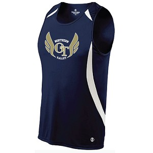 <b>2017 UNIFORMS</b><br>LADIES Sprinter Loose Fit Top<br>Printed