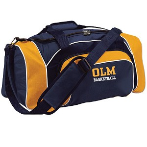 OLM League Travel Bag Embroidered LASTNAME Optional