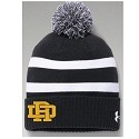 <b>UNDER ARMOUR</b><br>Pom Knit Hat<br>Embroidered