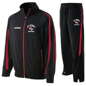 <b>Player Travel Set<b/r><br><i>Includes LASTNAME</><br>Jacket and Pants<br>Embroidered