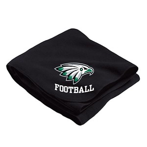 Stadium Fleece Blanket Embroidered on Both Corners (5' X 4')