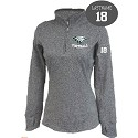 <b><i>LADIES ONLY FIT SIZING</i></b><br>Tech 1/4 Zip Pullover<br>Embroidered Left Chest<br><b><i>Your Son's LASTNAME & Jersey # AVAILABLE</i></b>