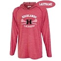 Lightweight<br>Polaris Red Tech Hoodie<br>Printed Front<br>LASTNAME Available
