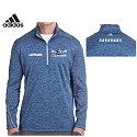 Adidas<br>Mens Tech Long Sleeve 1/4 Zip<br>Embroidered Left Chest <br>LASTNAME Available