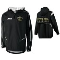 WIZARD LAX 1/4 Zip Pullover<br>Embroidered Left Chest & PRINTED BACK<br><b><i>LASTNAME Available</i></b>