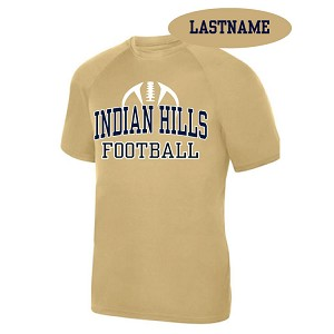Vgs. Gold Tee Printed LASTNAME Optional