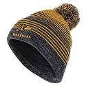 Pom Knit Hat<br>Embroidered