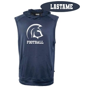 Sleeveless Hoodie Printed LASTNAME Optional