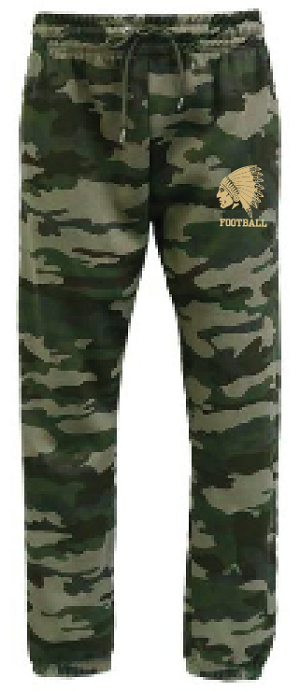 New!! CAMO Jogger Sweatpants Embroidered
