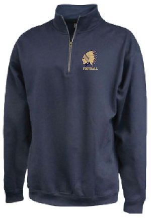 New for Fall !!  Fleece 1/4 Zip Embroidered