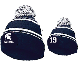 New Winter Item!! Pom Pom Hat Embroidered JERSEY NUMBER Optional