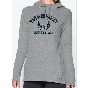Under Armour Woman's ONLY Stadium Hoodie Printed LASTNAME Optional on Back