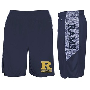 Badger Blend Panel Shorts<br>Embroidered and Printed Side