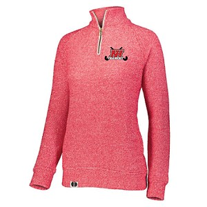 <b><i>HOLLOWAY</i></b><br>Tech Cuddly Quarter Zip Pullover<br>Embroidered Left Chest<br><b><i>LASTNAME & NUMBER  AVAILABLE</i></b>
