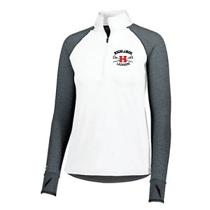 LADIES ONLY<br>Holloway AXIS Travel Half Zip<br>Embroidered Left Chest<br>LASTNAME and NUMBER Available