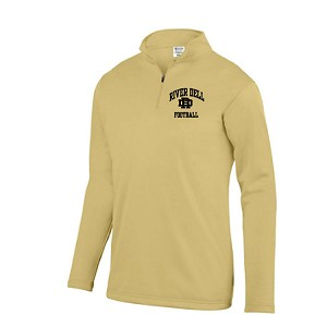 <b><i>AUGUSTA</i></b><br>1/4 Zip Wicking Fleece Pullover<br>Embroidered Left Chest<br><b><i>LASTNAME & JERSEY # AVAILABLE</i></b>