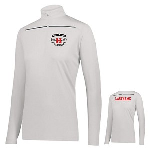 Ladies Only DEFER COLLECTION<br>Ladies 1/2 Zip Pullover<br>Embroidered Left Chest<br>LASTNAME Available