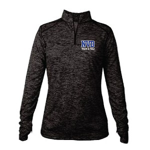 Ladies ONLY Twisted Tech 1/4 Zip Embroidered LASTNAME Optional
