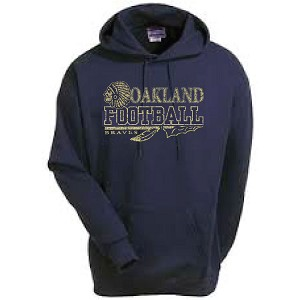 C2 Fleece Hoodie Aged Printed<br><b>Last Name Available</b>