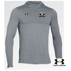 UA MAT WARM UP Poly Tech 1/4 Zip Hoodie Embroidered LASTNAME Optional