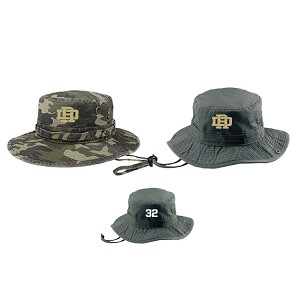 NEW STOCK!!Original MEGA Bucket Hat<br>Embroidered Front<br><b>Jersey # on Back Optional<br>MILITARY OLIVE GREY/b>