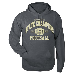 C2 Carbon Fleece Hoody<br>Printed Property of STATE CHAMPIONS Front Front and Back<br><b><i>LASTNAME and NUMBER Available Sleeve</i></b>