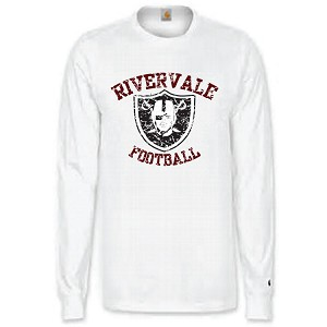 Cotton Long Sleeve<br>2 Color Print<br><b>LASTNAME Optional</b>