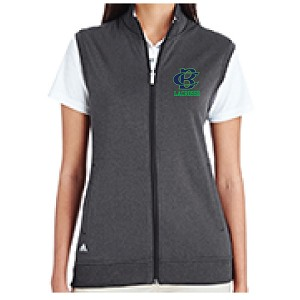 <b><i>LADIES ONLY FIT</i></b><br>ADIDAS Tech Vest<br>Embroidered Left Chest