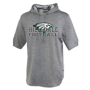 Belichick Tech Short Sleeve Hoodie<br>Printed Front<br><b><i>LASTNAME AVAILABLE</i></b>
