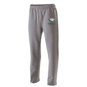 FLEECE SWEATS Open Bottom w/Pockets<br>Printed Front<br><b><i>JERSEY NUMBER Opposite Thigh AVAILABLE</i></b>