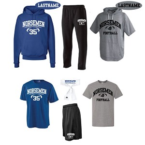 <b><i>NVD FOOTBALL PLAYERS PACK</b></i><br>Includes All 7 Items