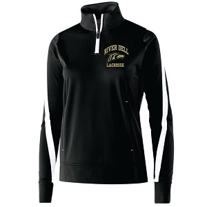 Holloway<br>Ladies ONLY Determination 1/4 Zip Pullover<br>Embroidered Left Chest