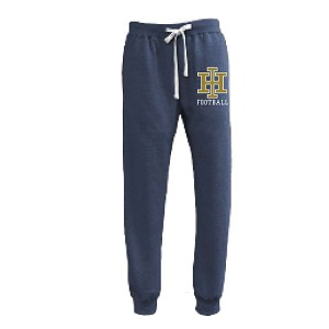 Blue JOGGER Sweats Embroidred