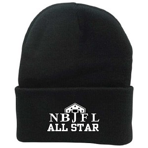 NBJFL ALL STAR Knit Hat Embroidered