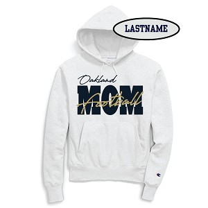Updated Reduced!! Football MOM White Fleece Hoodie LASTNAME Optional