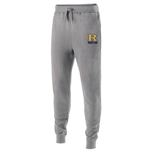 Matching Ath. Grey Jogger Sweats Embroidered Thigh
