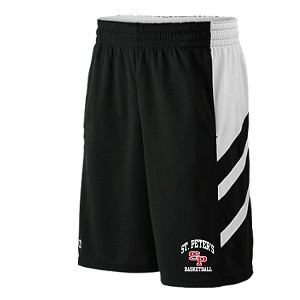 New! Holloway Helium Shorts w/Pockets<br>EMBROIDERED THIGH