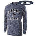 Poly Navy Tech 2.0 Long Sleeve Printed LASTNAME Optional