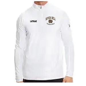 Order By Jan 5 Receive Jan 22 UNDER ARMOUR Poly Tech 1/4 Zip Embroidered LASTNAME Optioanl
