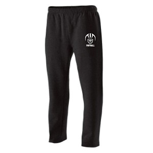 Sweatpants Open bottom w/Pockets Embroidered